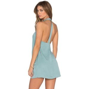 NBD Don't Turn Back Mini Dress in Mint